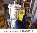 personal h2s gas detector check ... | Shutterstock . vector #657620011
