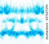 vector tie dye seamless pattern.... | Shutterstock .eps vector #657637294
