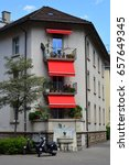Stock photo amazing architecture of zurich city zurich switzerland 657649345