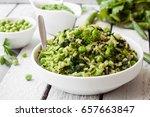 Veggie Rice With Green...
