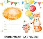ready made beautiful invitation ... | Shutterstock . vector #657702301