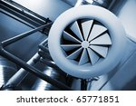 System Of Ventilating Pipes At...