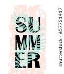 summer sale banner | Shutterstock .eps vector #657721417