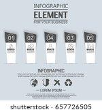 element for infographic ...   Shutterstock .eps vector #657726505