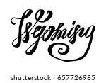 usa state wyoming hand... | Shutterstock .eps vector #657726985