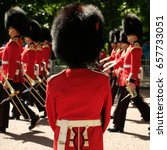 Royal Guards Taking Part In The ...