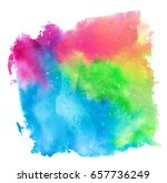 colorful abstract watercolor...   Shutterstock .eps vector #657736249