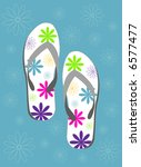 Retro Vector Flipflops With...