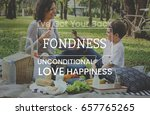 family parentage home love... | Shutterstock . vector #657765265