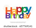 Happy Birthday Full Color With...