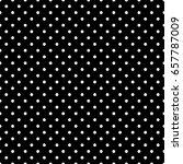 black and white polka dot... | Shutterstock .eps vector #657787009