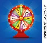 Realistic Retro Spinning Wheel...