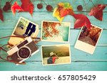 photo album in remembrance and... | Shutterstock . vector #657805429