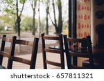 city cafe | Shutterstock . vector #657811321