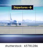 tourist info signage in airport ... | Shutterstock . vector #65781286