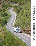 caravan camper car motorhome...   Shutterstock . vector #65783137