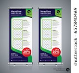 roll up brochure flyer banner... | Shutterstock .eps vector #657840469