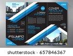 business brochure. flyer design....   Shutterstock .eps vector #657846367