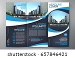 business brochure. flyer design.... | Shutterstock .eps vector #657846421