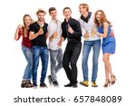 party  holiday  relax and... | Shutterstock . vector #657848089