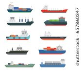 Cargo Vessels And Tankers...