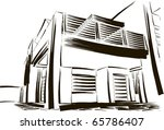sketch | Shutterstock .eps vector #65786407