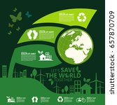 environment. let's save the... | Shutterstock .eps vector #657870709