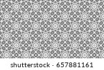 black and white ornament for... | Shutterstock . vector #657881161