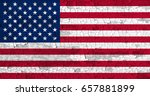 united states of america flag... | Shutterstock . vector #657881899
