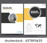 abstract vector modern flyers... | Shutterstock .eps vector #657893635