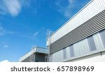 factory warehouse and... | Shutterstock . vector #657898969
