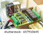 integrated semiconductor... | Shutterstock . vector #657910645