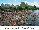 Yangshuo   October 1  Masses O...