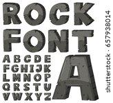 font design for english... | Shutterstock .eps vector #657938014