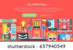 human organs 3d printer... | Shutterstock . vector #657940549