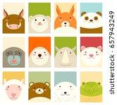 banners  backgrounds  flyers ... | Shutterstock .eps vector #657943249