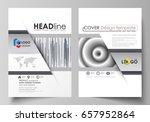 business templates for brochure ... | Shutterstock .eps vector #657952864