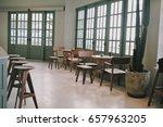 coffee shop  interior  bistro | Shutterstock . vector #657963205