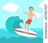 vector illustration of the... | Shutterstock .eps vector #657967357