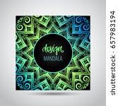 modern template for design ... | Shutterstock .eps vector #657983194
