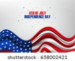 4th of july  united stated... | Shutterstock .eps vector #658002421