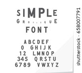 Hand Crafted Modern Font...