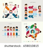 infographic elements with... | Shutterstock .eps vector #658010815