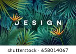 bright tropical background with ...   Shutterstock .eps vector #658014067