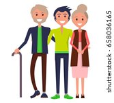 parents' day poster vector...   Shutterstock .eps vector #658036165