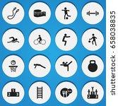set of 16 editable exercise...