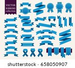 vector collection of decorative ... | Shutterstock .eps vector #658050907