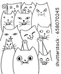 Cute Cat. Page For Coloring...