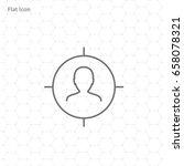 target icon | Shutterstock .eps vector #658078321