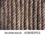 raw rope texture | Shutterstock . vector #658083931